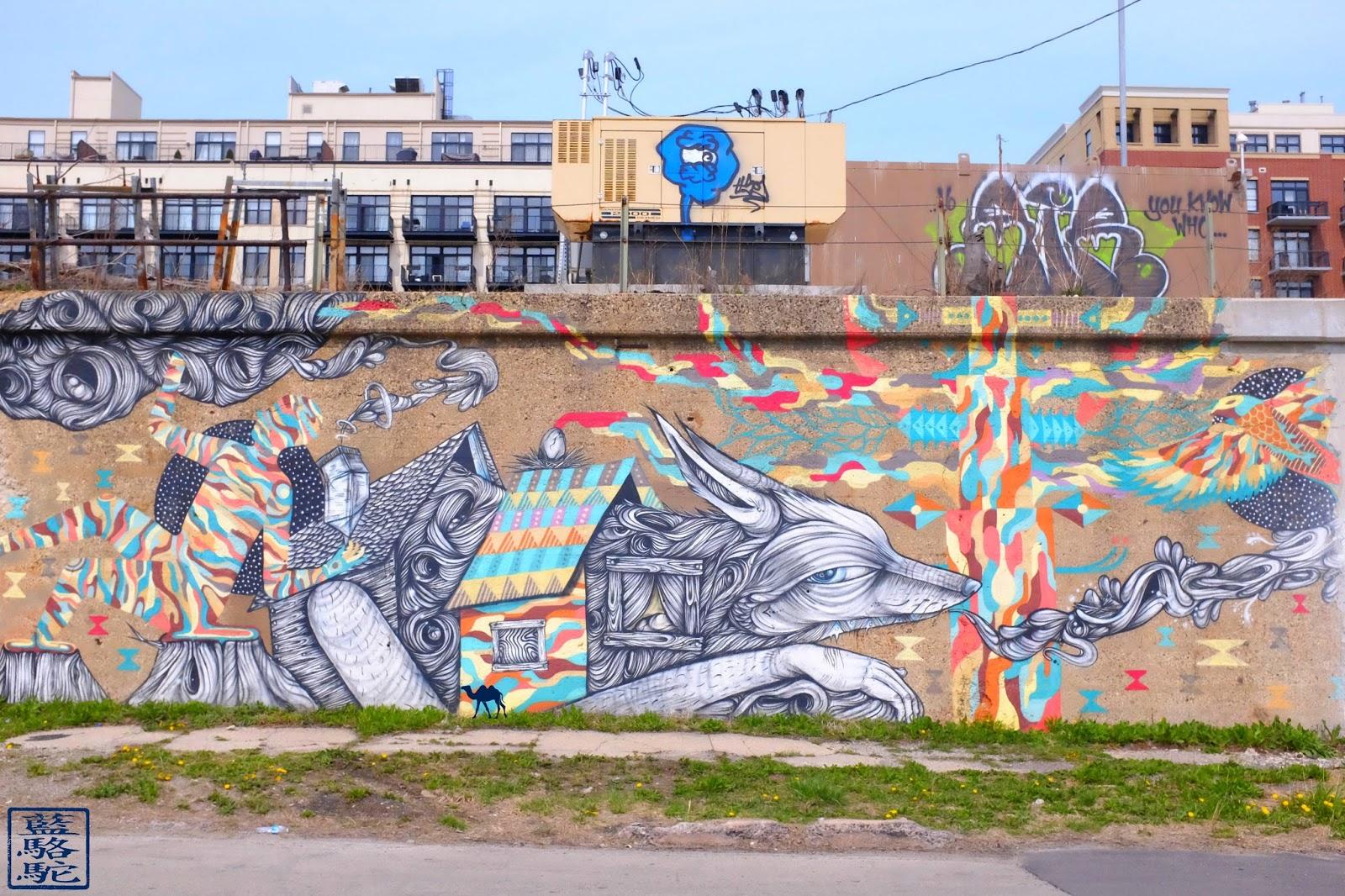Le Chameau Bleu - 18th street Pilsen- Renard