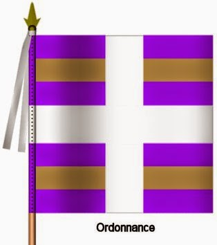 Berry Infanterie Ordonnance Flag