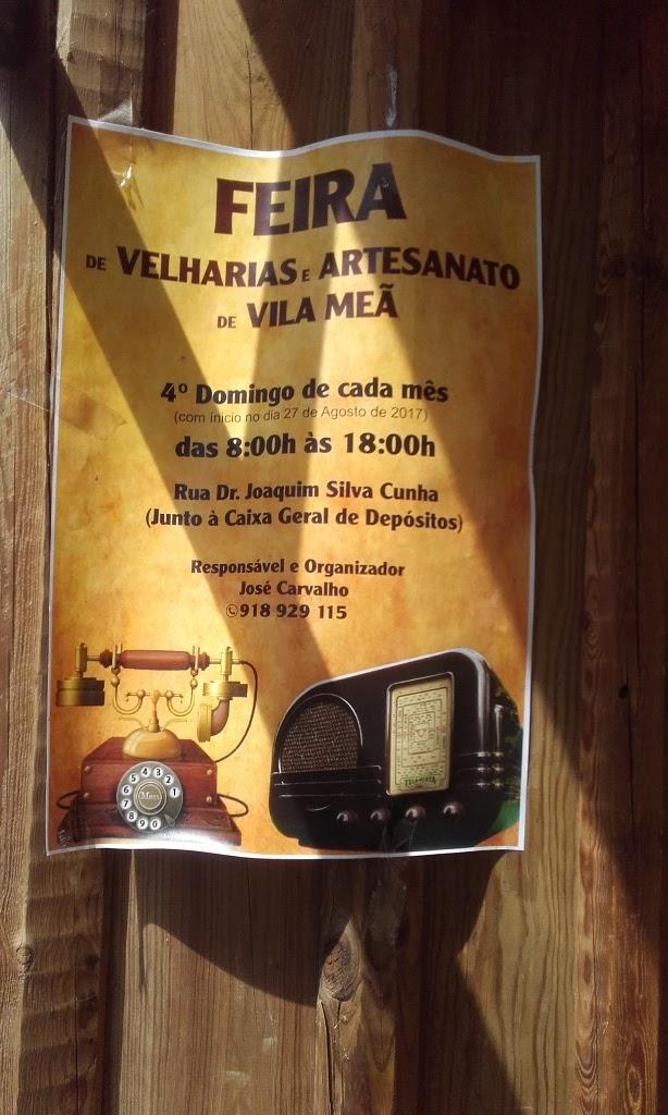 Feira de Velharias e artesanato de Vila Meã
