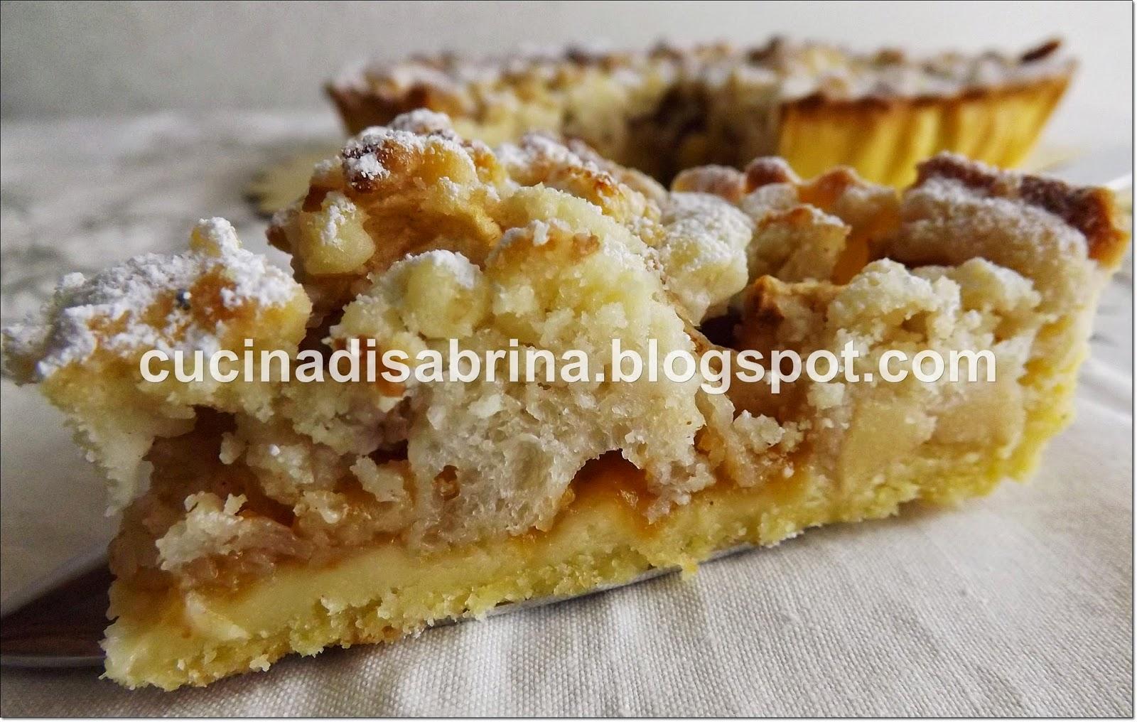 La cucina di sabrina crostata di pane e mele in crosta for Crostata di mele