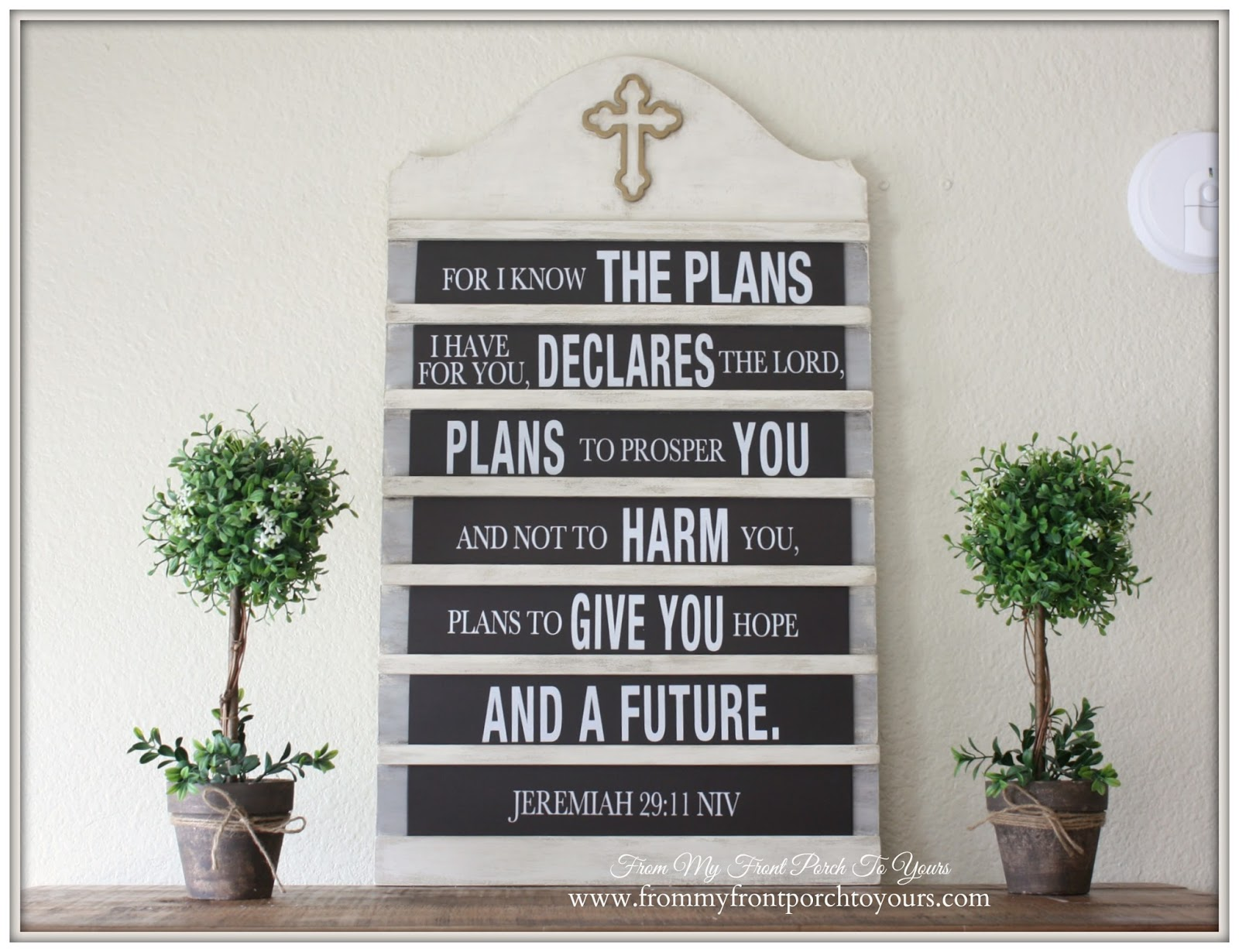 French Farmhouse Spring -DIY Hymnal Board-Breakfast Nook- From My Front Porch To Yours