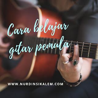 Belajar gitar pemula