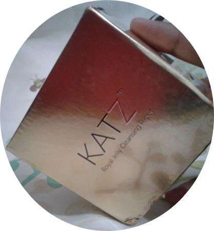 KATZ Royal Jelly Cleansing Paper - Indah Khabar Cantik Rupa!