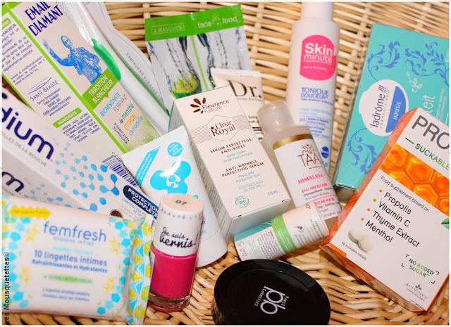 Douceur Hiver, box beauté Top Santé - Blog beauté Les Mousquetettes