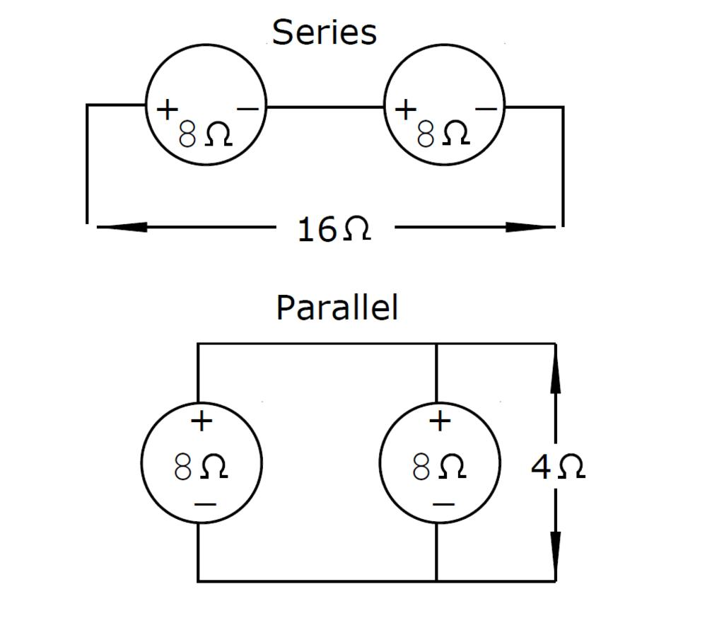 Wiring Sugar Cube Speakers In Series