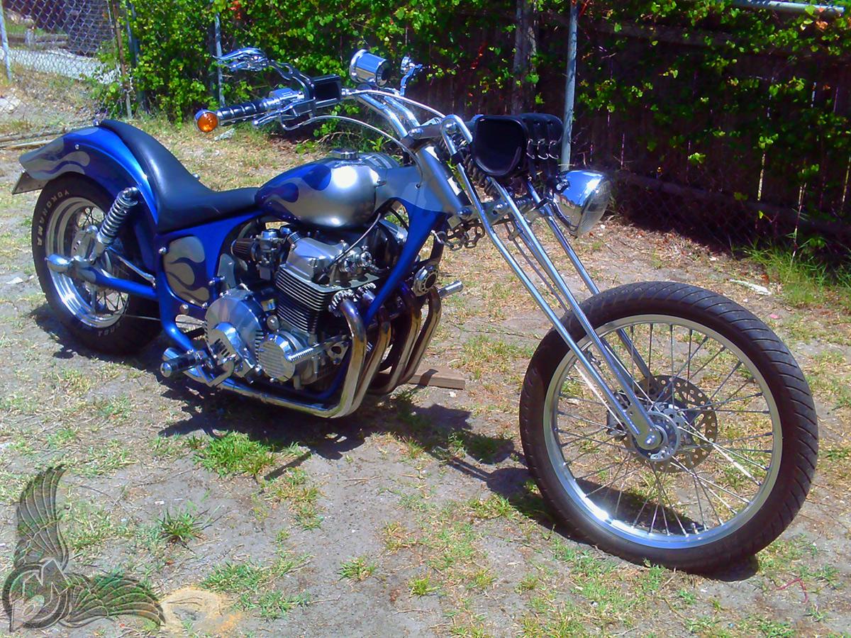 reader rides david morgan 39 s cb750 hondamatic chopper bikermetric. Black Bedroom Furniture Sets. Home Design Ideas
