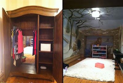 titkos szoba a ruhásszekrényben