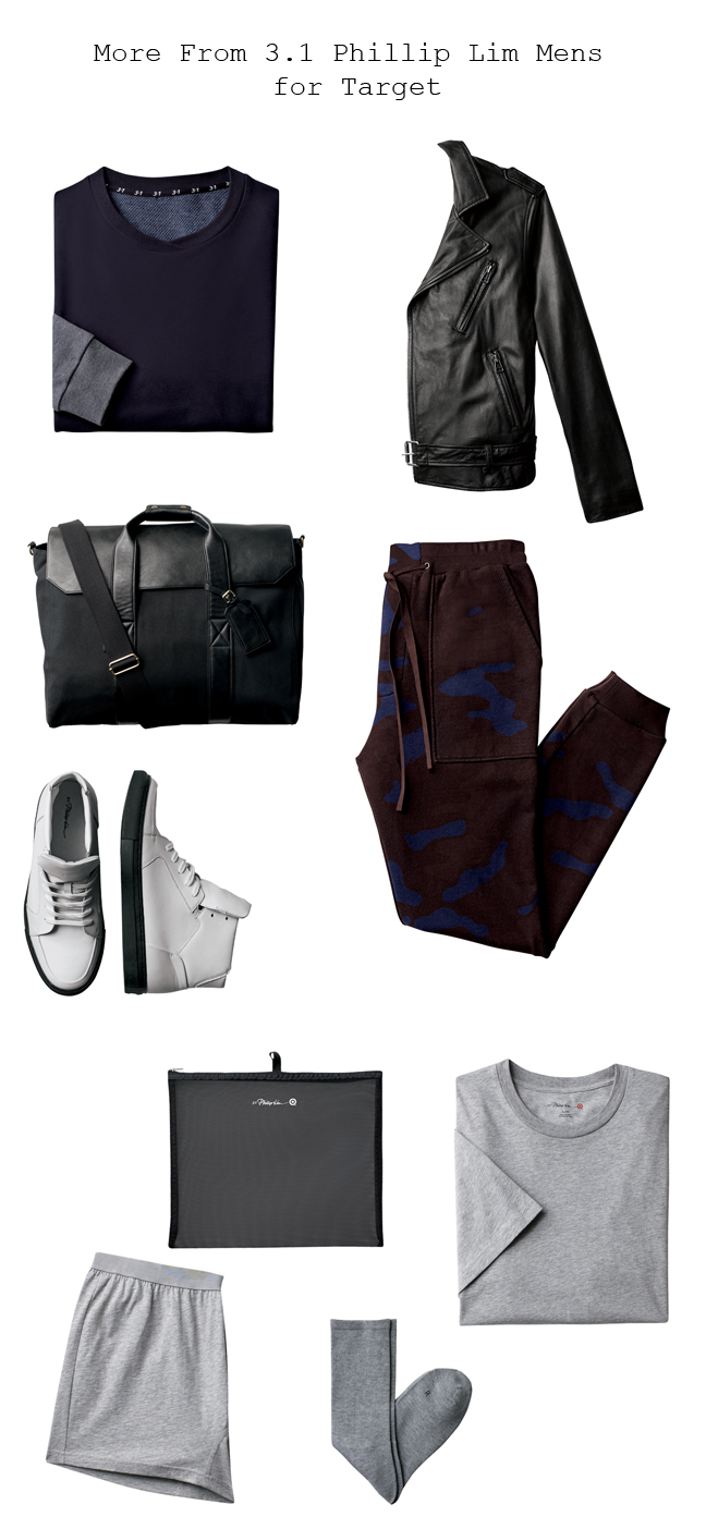3.1 Phillip Lim menswear collection for Target