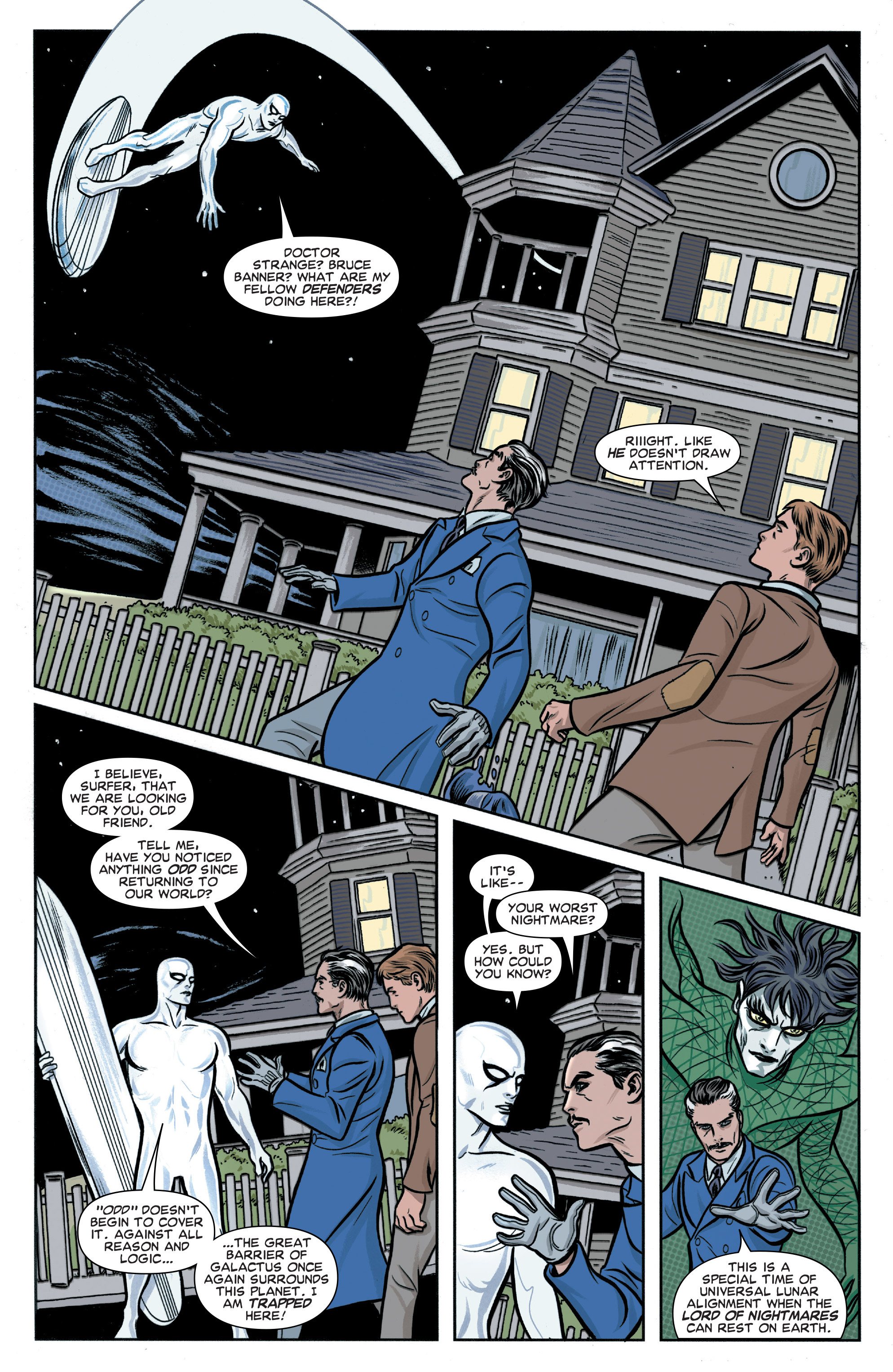 Read online Silver Surfer (2014) comic -  Issue #5 - 5