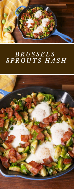 Brussels Sprouts Hash