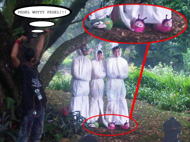 Bakalan tidak takut kalau lihat  3 Idiot Pocong