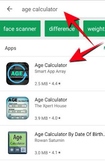 Age calculator app