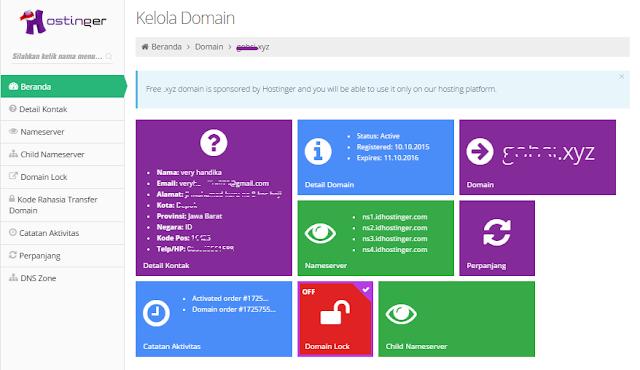 Cara Mendapatkan Domain .xyz Gratis 1 Tahun