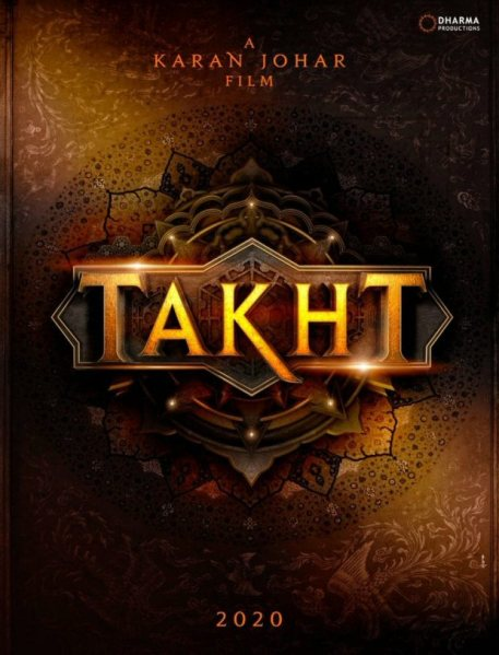 Takht new upcoming movie first look, Poster of Ranveer, Alia, Kareena, Jhanvi next movie download first look Poster, release date