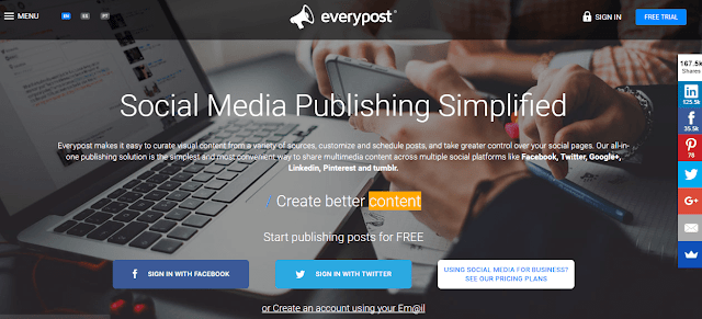 Everypost social media management tool