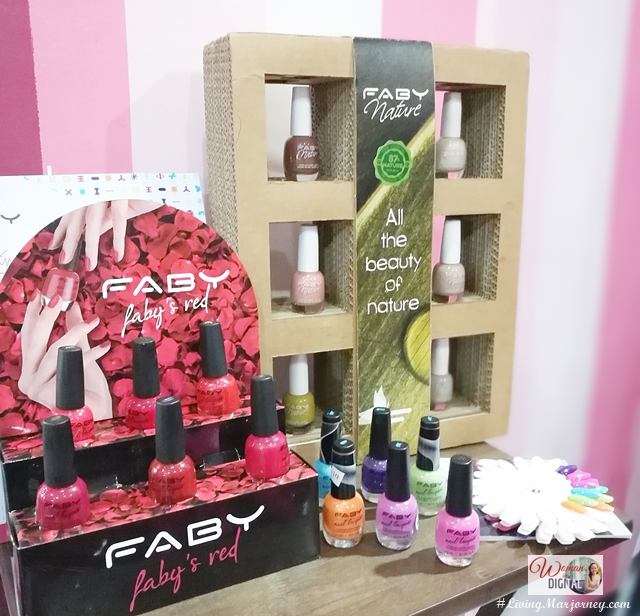 Faby Nail Polish Winter Fall Collection