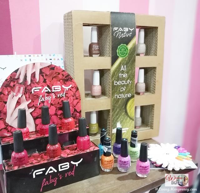 Faby Nail Polish Winter Fall Collection