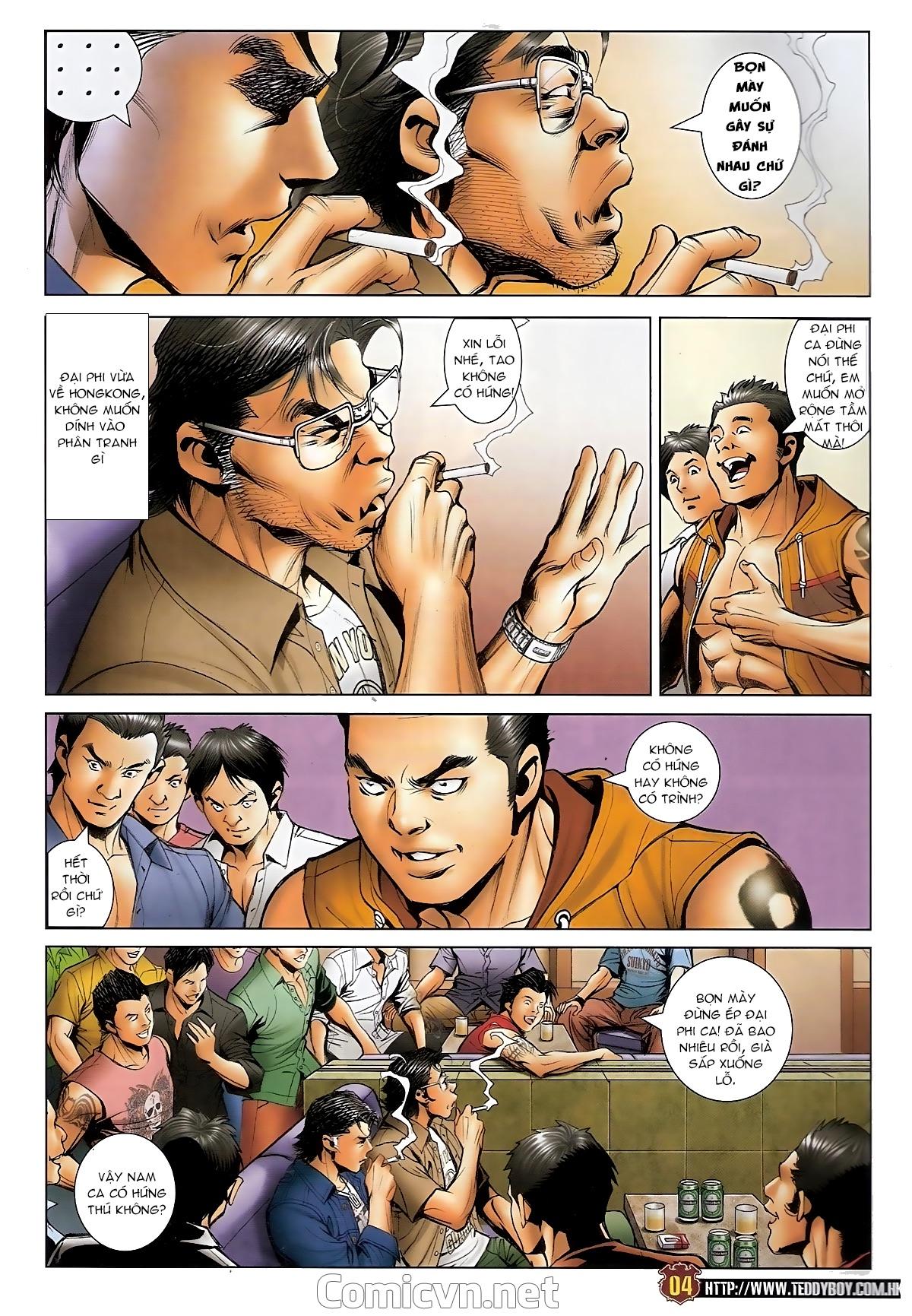 Người Trong Giang Hồ - Chapter 1548: Cha con ra trận - Pic 3