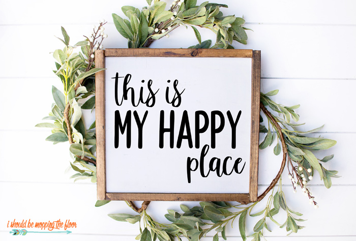 Happy Place SVG