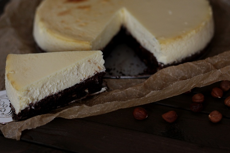 Gluten Free Hazelnut Cheesecake - Glutenfreier Haselnuss-Cheesecake 4