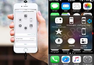 Cara Menemukan dan Share Hasil Screenshot di iPhone