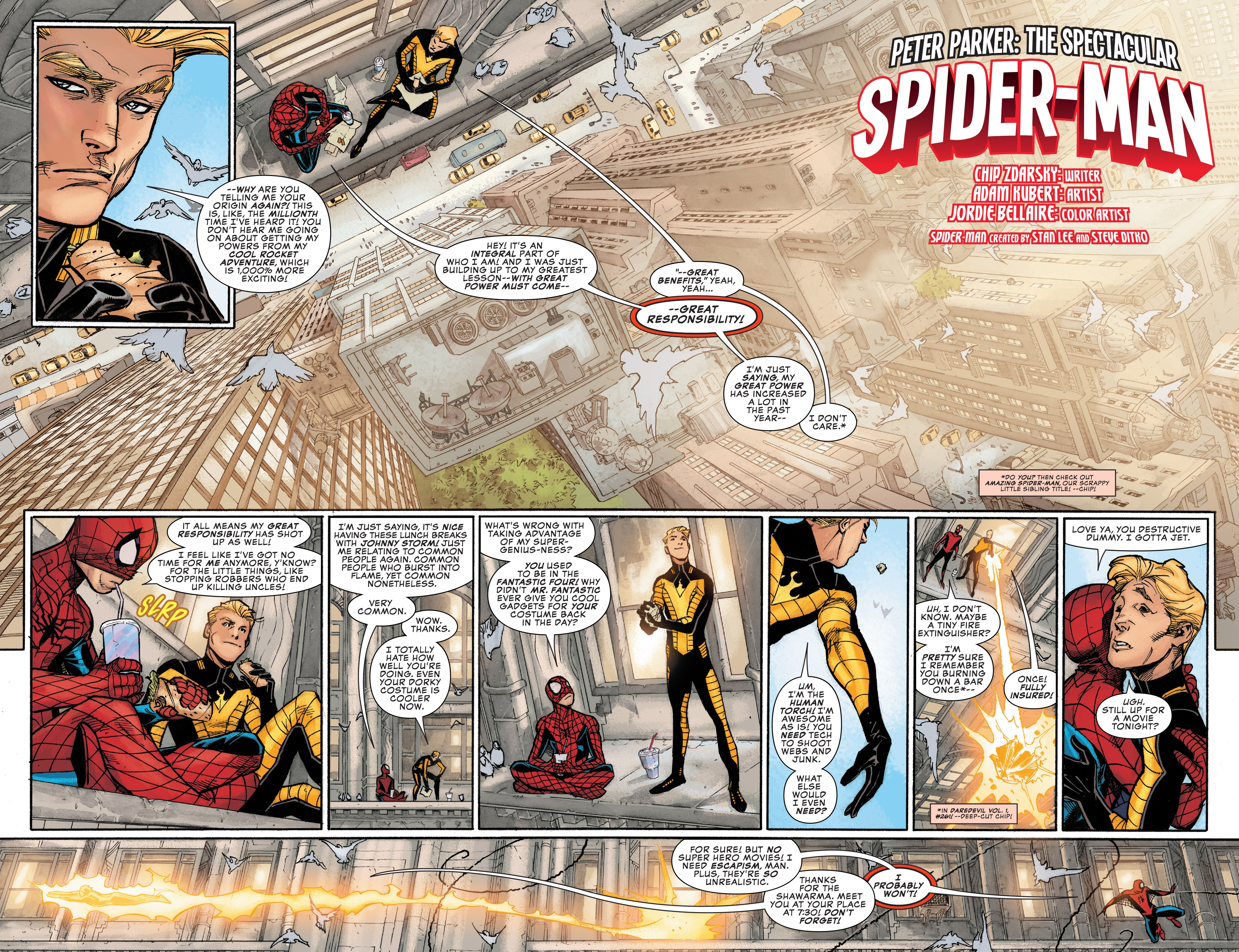 Read online Peter Parker: The Spectacular Spider-Man comic -  Issue #1 - 3
