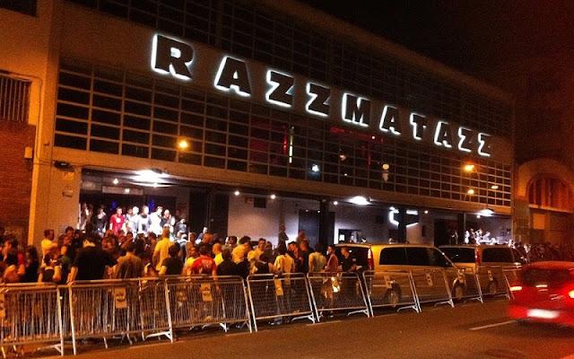 Balada Razzmatazz em Barcelona