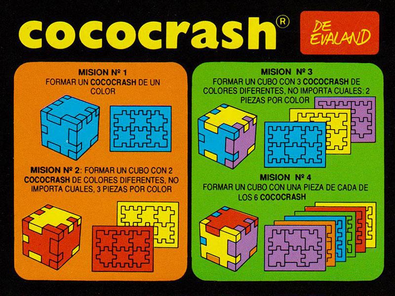 Cococrash 1986 Instrucciones 1