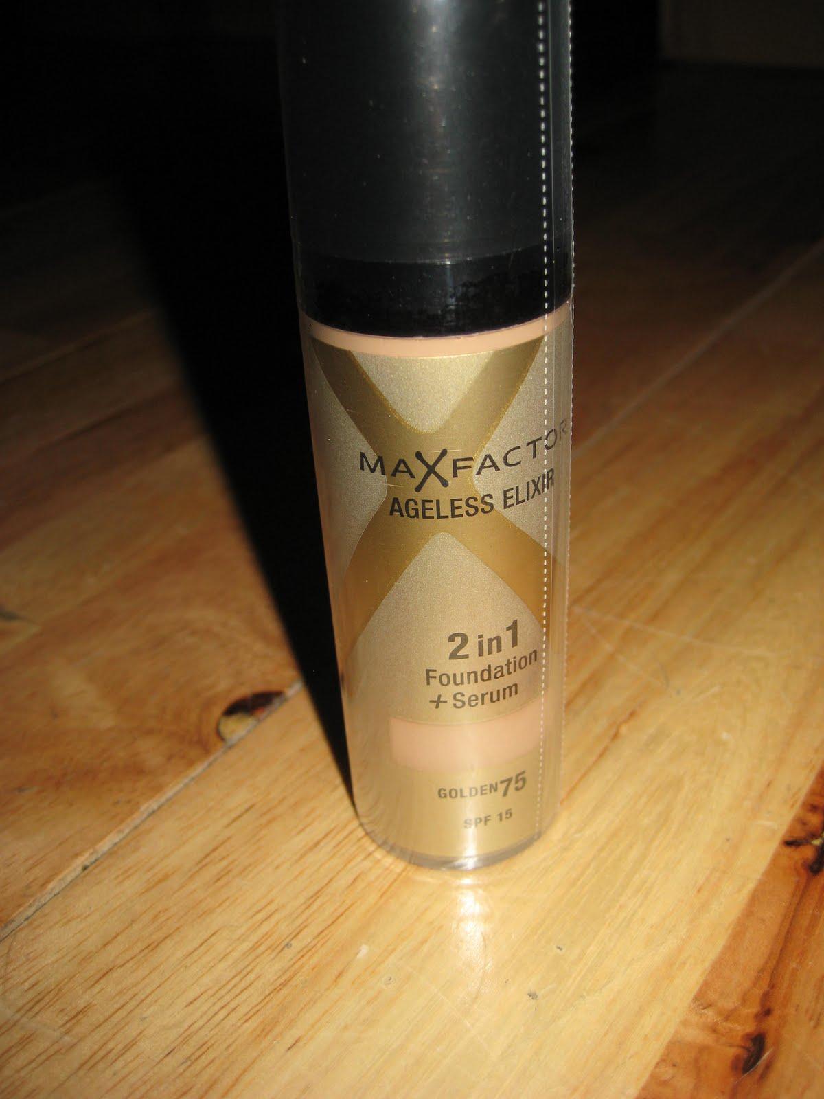 max factor ageless elixir 2 in 1 foundation