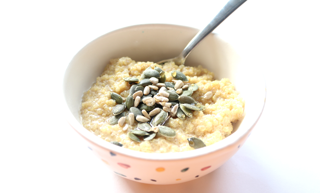 3 Ways With Porridge - Quinoa, Barley and Polenta (Vegan & Dairy-Free recipes)