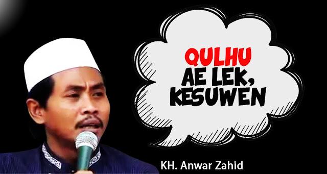 Profil Dan Biodata KH. Anwar Zahid
