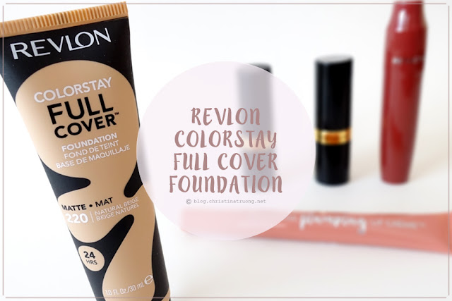 Revlon ColorStay Full Cover Matte Foundation in 220 Natural Beige Review