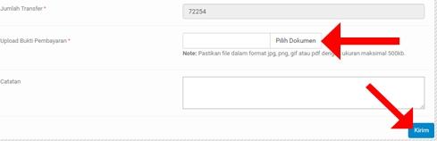 Konfirmasi Pembayaran Pembelian Domain