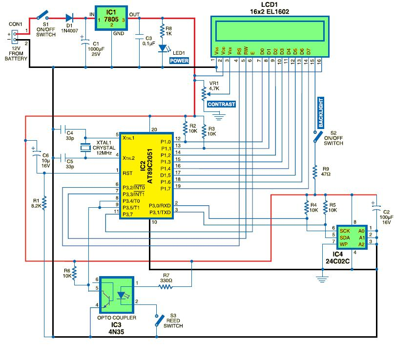 Circuit Schematic  Electronics Engineering Lovers ~ Technology We Love