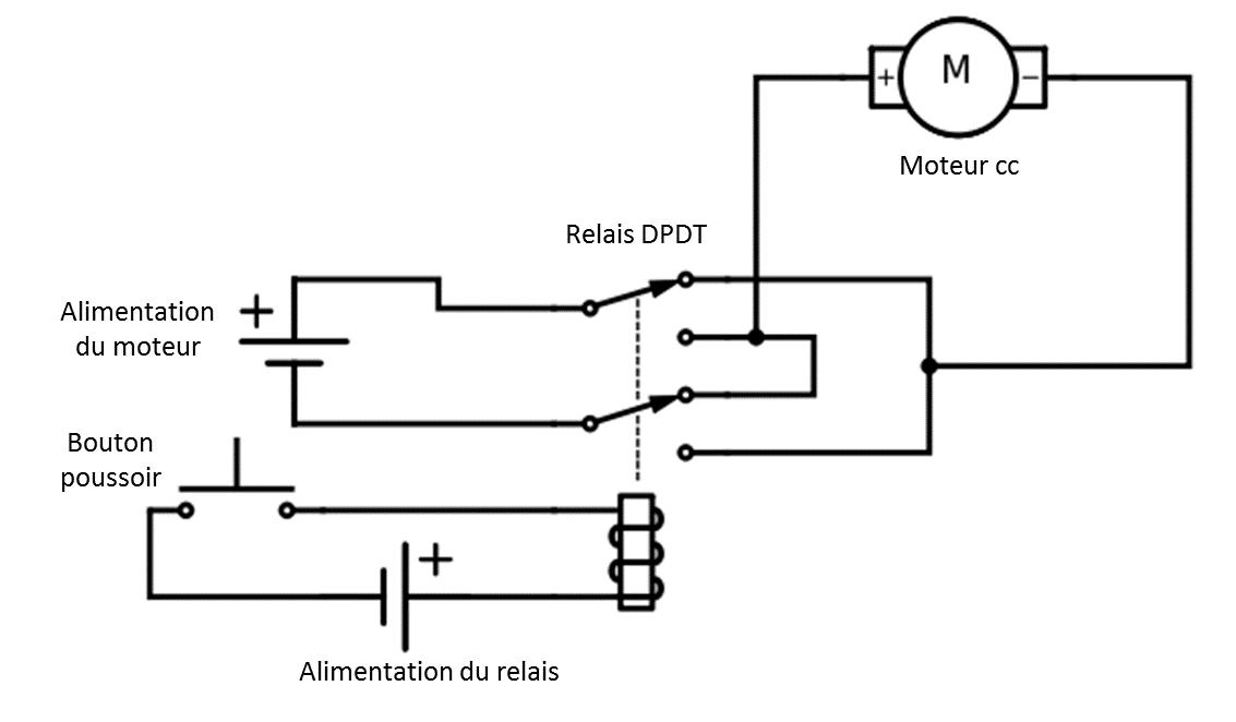 u00c9lectronique en amateur  inverser le sens de rotation d u0026 39 un
