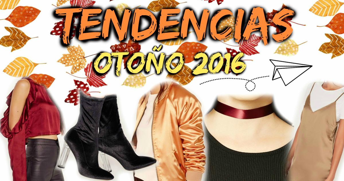 tendencias de otoño 2016