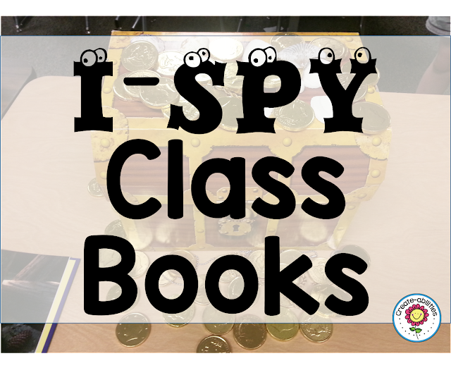 I Spy Class Books