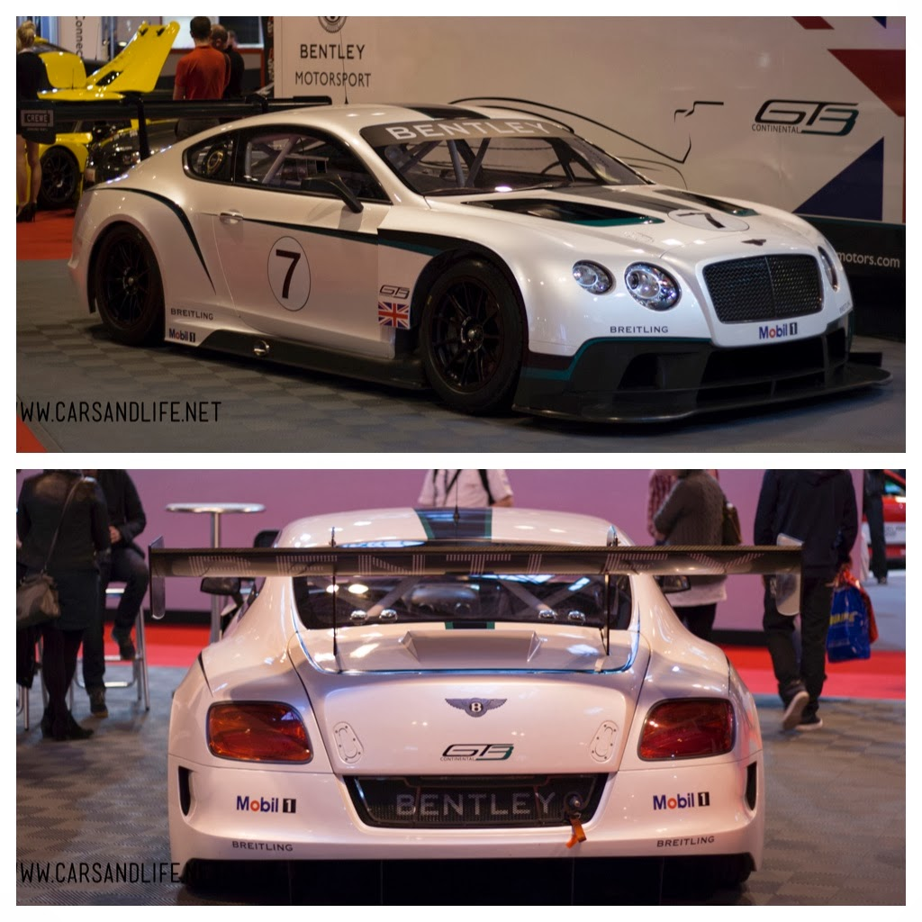 Bentley 2014: Autosport International 2014 #asi14
