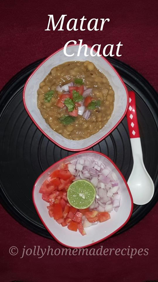 How To Make Matar Chaat At Home