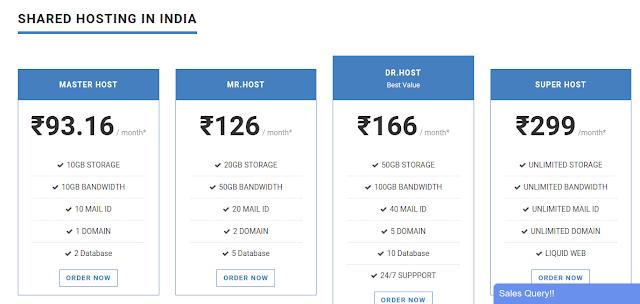web hosting plans in agartala