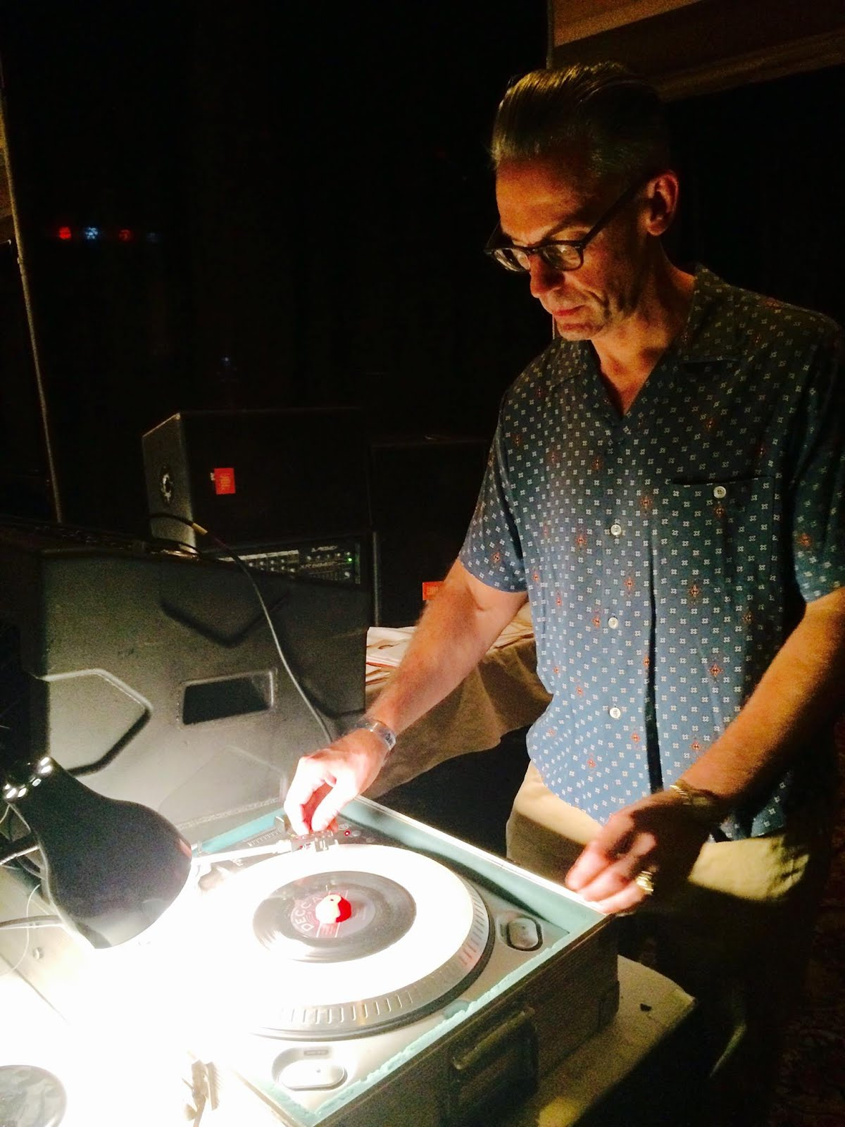 Easy Ed Spinning at The New England Shake-Up 2015