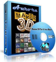 تثبيت و تفعيل أخر اصدار من برنامج Aurora 3D Text & Logo Maker 16.01.07