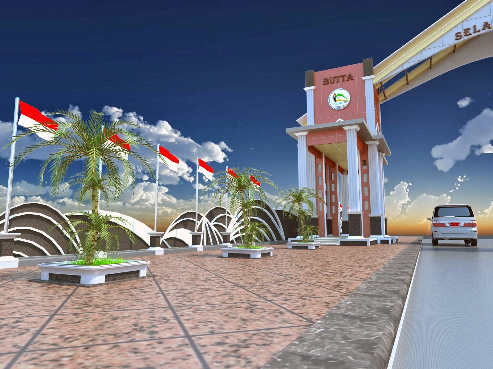 Duta Konstruksi Konsultan: pintu gerbang kabupaten ...