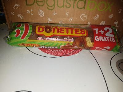 Donettes con chocolate y avellanas Caja Degustabox - Octubre ´16