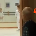Little boy watches his sister practice ballet. But what the mother films next is too cute!