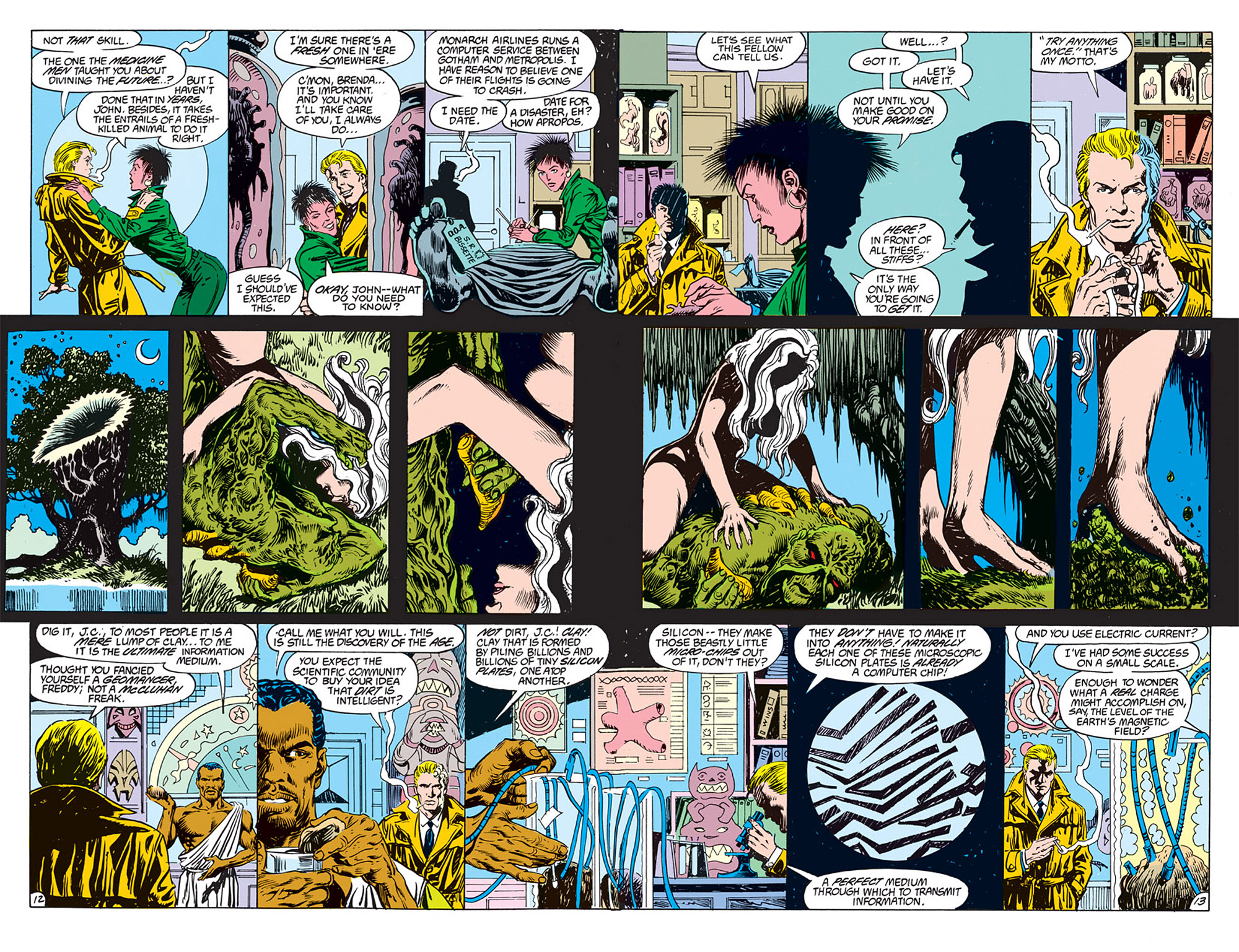 Swamp Thing (1982) Issue #70 #78 - English 8