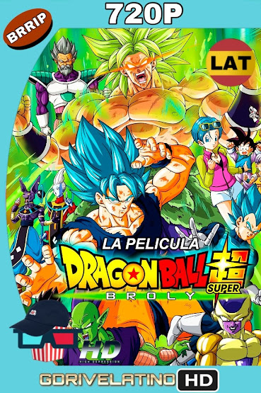 Dragon Ball Super: Broly (2018) BRRip 720p Latino-Japones MKV