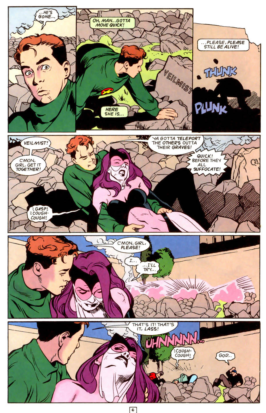 Legion of Super-Heroes (1989) 48 Page 6