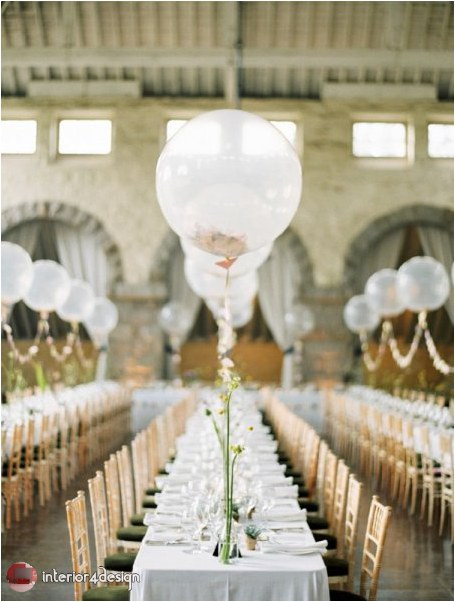 Wedding Decorations With Balloons And Flowers 15