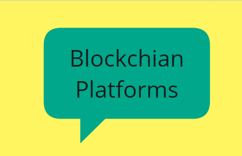 Blockchain Platforms popular
